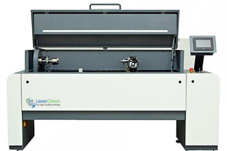 Система за лазерно почистване на растер-валове с ширина до 1000мм
