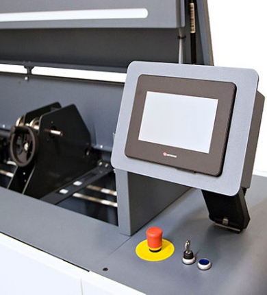 Narrow Web laser cleaning system