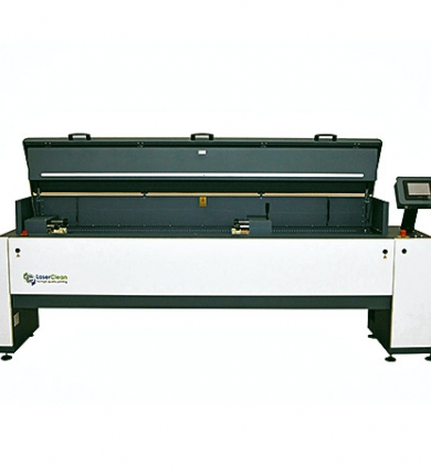 Mid Web laser cleaning system