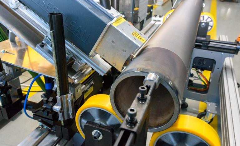 Какво е лазерно почистване на растер валове?