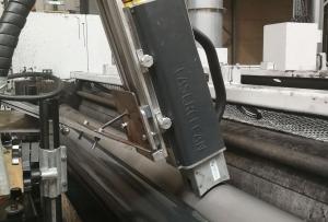 Инлайн лазерно почистване на растер валове